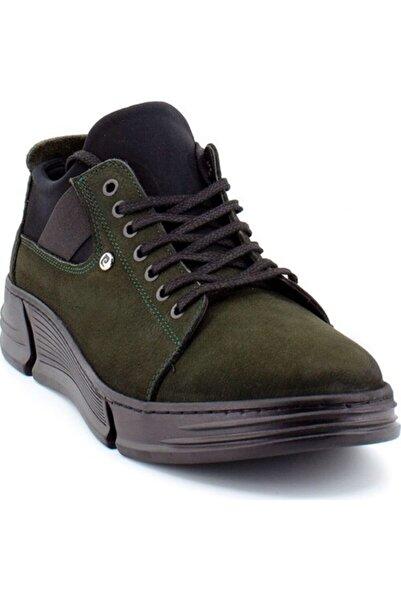 Pierre Cardin 101192 Erkek Deri Günlük Ayakkabı Haki
