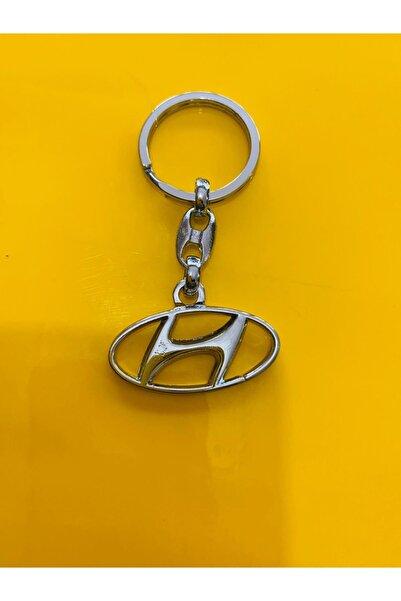 Hyundai Logolu Lüx Anahtarlık