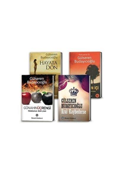 Doğan Kitap Gülseren Budayıcıoğlu 4 Kitap Set -kral Kaybederse-madalyonun Içi-hayata Dön