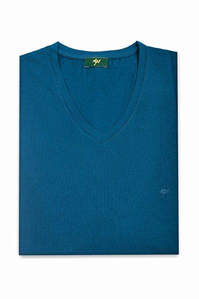 İgs Erkek Petrol Modern Fit T-Shirt
