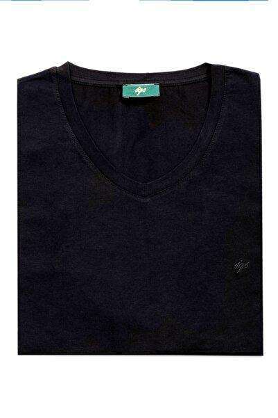 İgs Erkek Siyah Modern Fit T-Shirt
