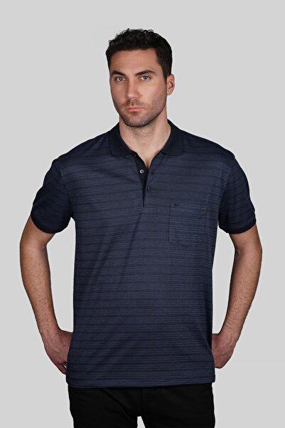 İgs Erkek Lacivert Regular Fit Polo Yaka T-shirt