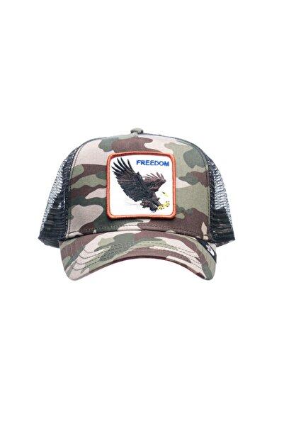 Goorin Bros Unisex Yeşil Baskılı Şapka
