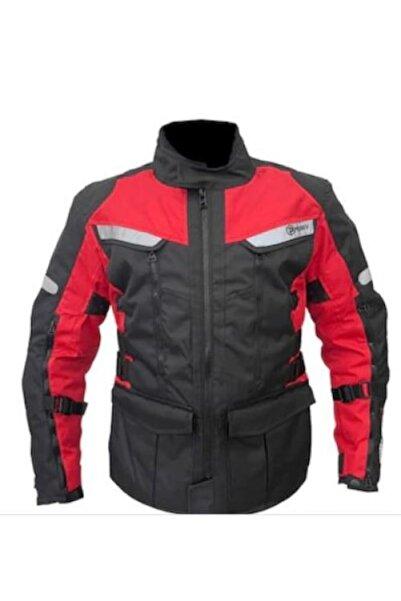 Prosev 7150 Uzun Motosiklet Montu Dört Mevsim Kırmızı