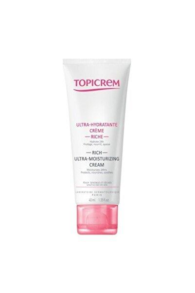 Topicrem Rich Ultra Moisturizing Face Cream 40 Ml
