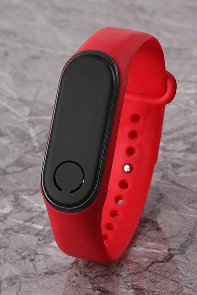 Polo55 Pludjt002r01 Kırmızı Dijital Saat