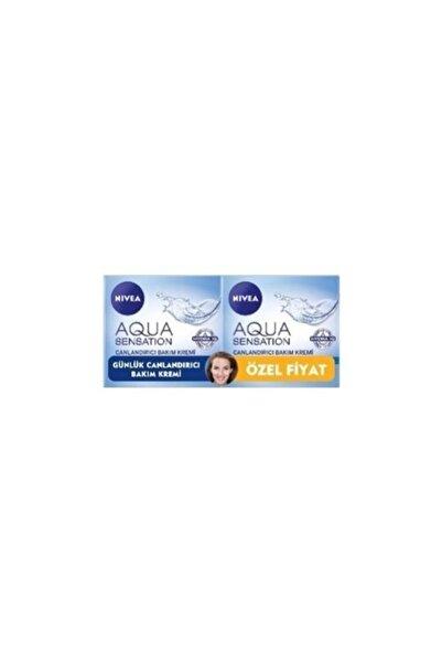 Nivea Aqua Sensation Canlandırıcı Yüz Bakım Kremi 50 Ml 1+1 Set Avantajlı Paket