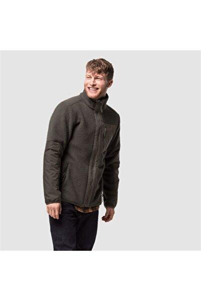 Jack Wolfskin Erkek Kahverengi Outdoor Sweatshirt