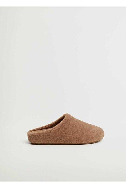 MANGO Woman Kadın Kahverengi Ayakkabı