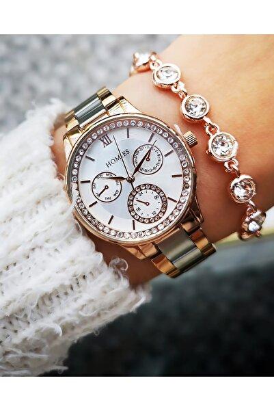 Homies Kadın Kol Saati ve Bileklik