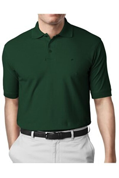 İgs Erkek Nefti Modern Fit Polo Yaka T-shirt