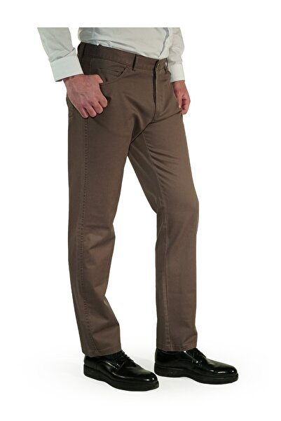İgs Erkek Bej Slim Fit Pantolon