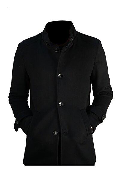 İgs Erkek Lacivert Slim Fit Palto