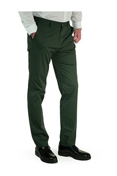 İgs Erkek Yeşil Regular Fit Pantolon