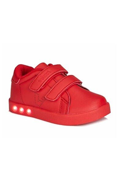 Vicco Unisex Çocuk Kırmızı  Ilk Adım Spor Ayakkabı