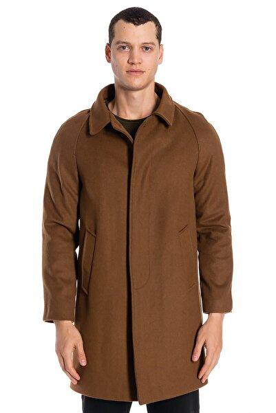 İgs Erkek Camel Modern Fit Palto