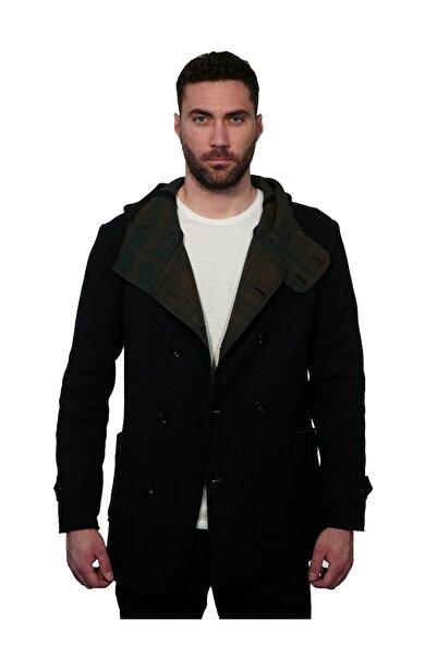 İgs Erkek Lacivert Modern Fit Palto