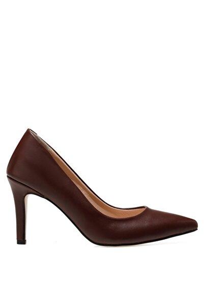 İnci Carmen Bordo Kadın Gova Ayakkabı