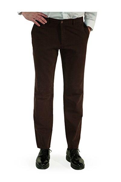 İgs Erkek Kahverengi Regular Fit Pantolon