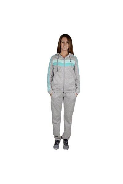 adidas Kadın Gri Slim Fit Pamuklu Kadın Eşofman Takımı M67651