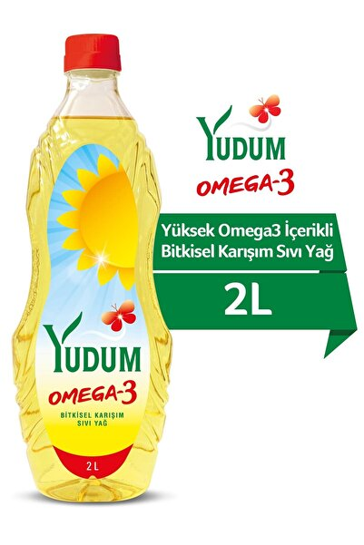 Yudum Omega 3 Ayçiçek Yağı 2 lt