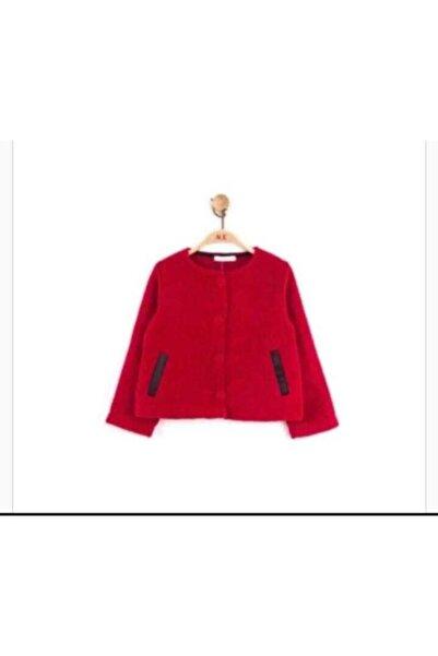 nk kids Kız Çocuk Kırmızı Ceket