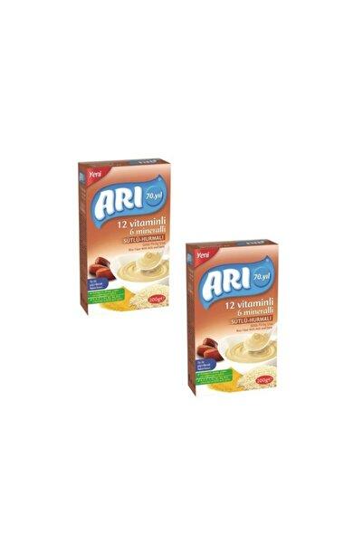 ARI Mama 12 Vitaminli 6 Mineralli Sütlü Hurmalı Pirinçli 200gr (2'li Paket)
