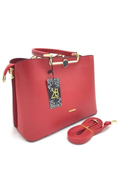KRISTE BELL Kırmızı Renk Kadın Kriste Bell 6255 Kodlu El Ve Omuz Çantası