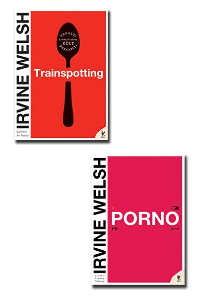 Siren Yayınları Irvine Welsh Set ( Trainspotting - Porno )
