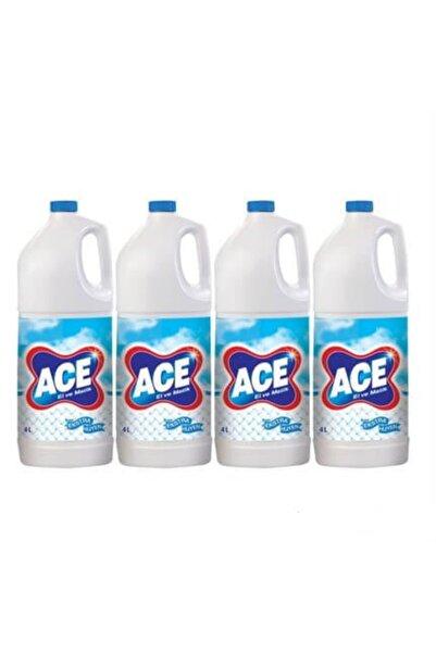 ACE Çamaşır Suyu El Ve Matik Profesyonel 4 lt 4 Adet