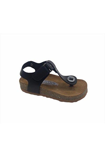 Sanbe 511 D 027 26-30 Deri Sandalet-siyah