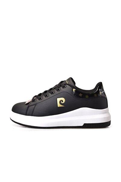 Pierre Cardin Kadın Kahverengi Bağcıklı Spor Ayakkabı