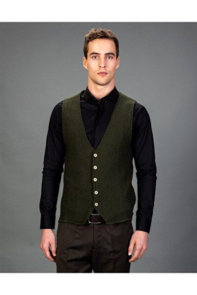 Tudors Erkek Yeşil Yelek - YL180001-48