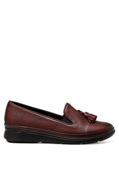 İnci Carmıne Bordo Kadın Comfort Ayakkabı