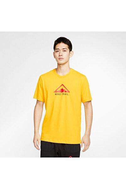 Nike Dri-fıt Trail Running Erkek T-shirt Ct3857-735