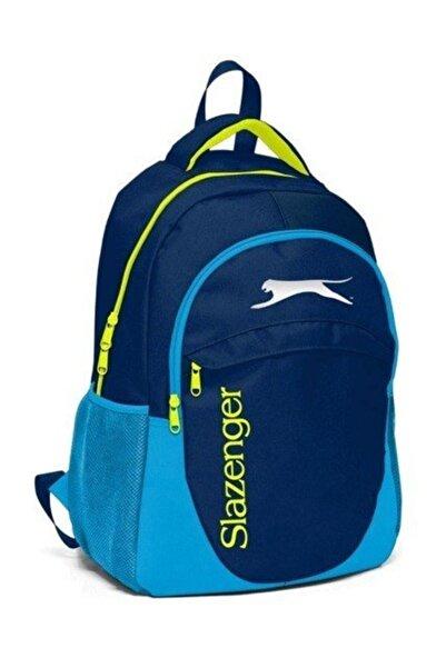Slazenger Unisex Mavi Sırt Çanta