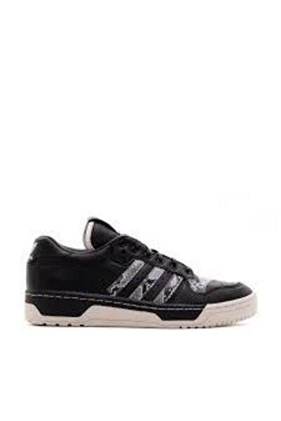 adidas Erkek Siyah Yılan Desenli Günlük Ayakkabı
