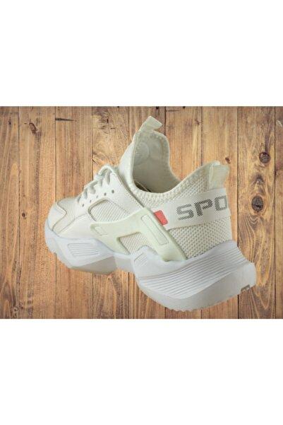 Marco Jamper Erkek Beyaz Spor Ayakkabı