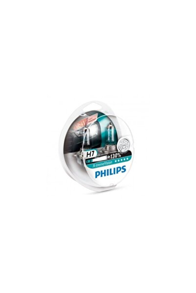 Philips X-treme Vision H7 Otomobil Far Ampulü (12972xv+s2) +%130 Fazla Işık 2'li Set