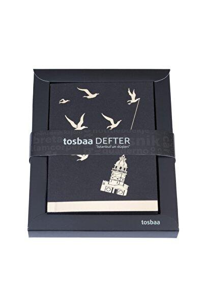 Tosbaa İstanbul Düşleri - Kız Kaçırma - Çizgisiz Defter 9,5 x 13