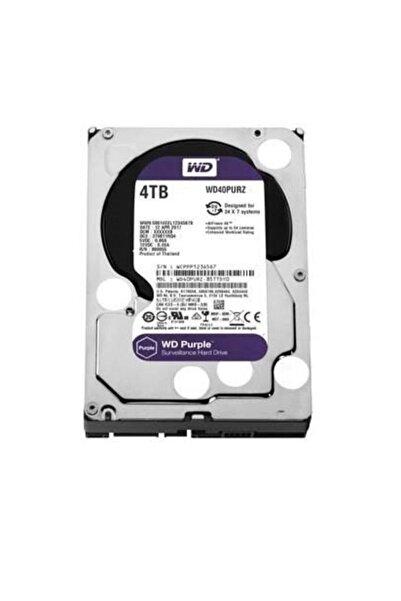 """WD Purple 40purz 4tb 3.5"""" 5400 Rpm 64mb Sata-3 Güvenlik Diski"""