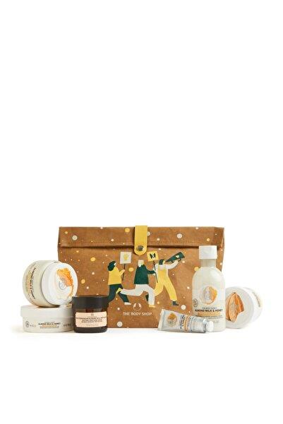THE BODY SHOP Almond Milk & Honey Deluxe 6'lı Hediye Seti