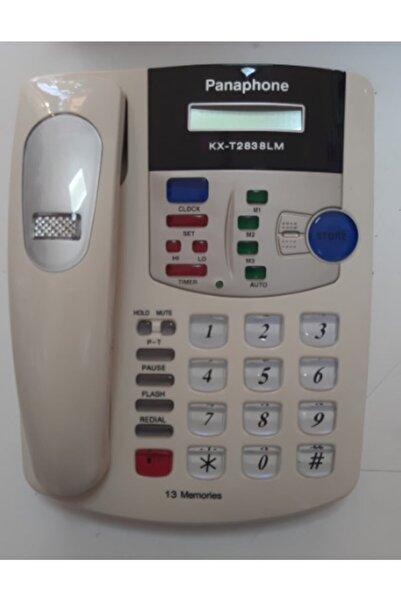 Panaphone Kx-t2838lm Kablolu Masaüstü Ev Telefonu Beyaz