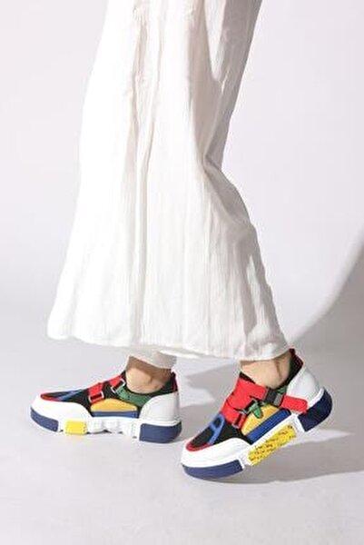 Kadın Sarı Sneaker 11112393243-01