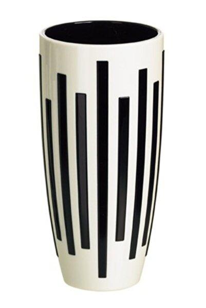 emsa Vazo Siyah Beyaz - Çizgili