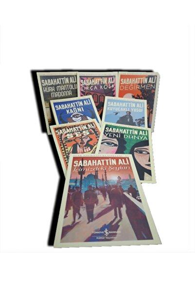 İş Bankası Kültür Yayınları Sabahattin Ali Türk Edebiyatı Klasikleri 8 Kitap