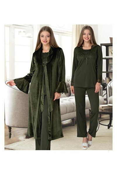 Şık Mecit Kadın 3'lü Pijama Takım