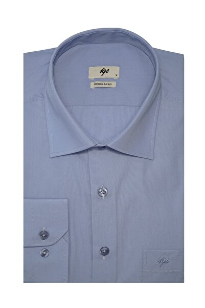 İgs Erkek Koyu Mavi Regular Fit Gömlek