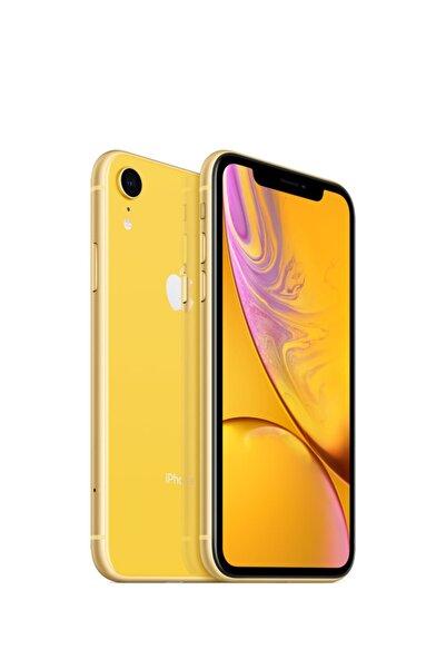 Apple iPhone XR 64GB Sarı Cep Telefonu (Apple Türkiye Garantili) Aksesuarsız Kutu