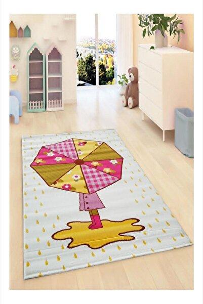 Payidar Halı Kids Amigo 8519A Şemsiye Desenli Çocuk Halısı